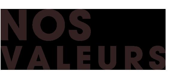 Les valeurs de Neobab