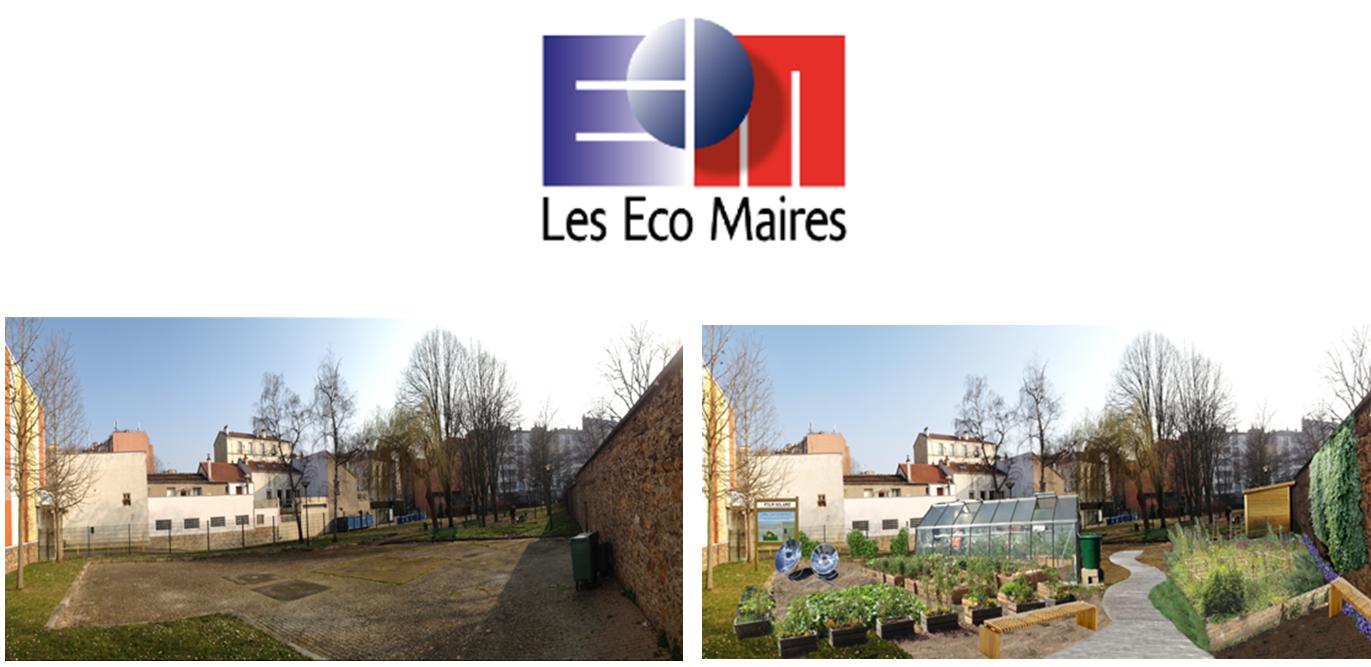 Neobab est le lauréat du 26ème Trophée Eco - Actions de l'Association des Maires de France avec la Ville de Malakoff