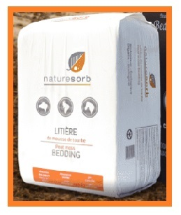 Absorbant naturel NATURESORB® AGRO Orange (Litière animale)